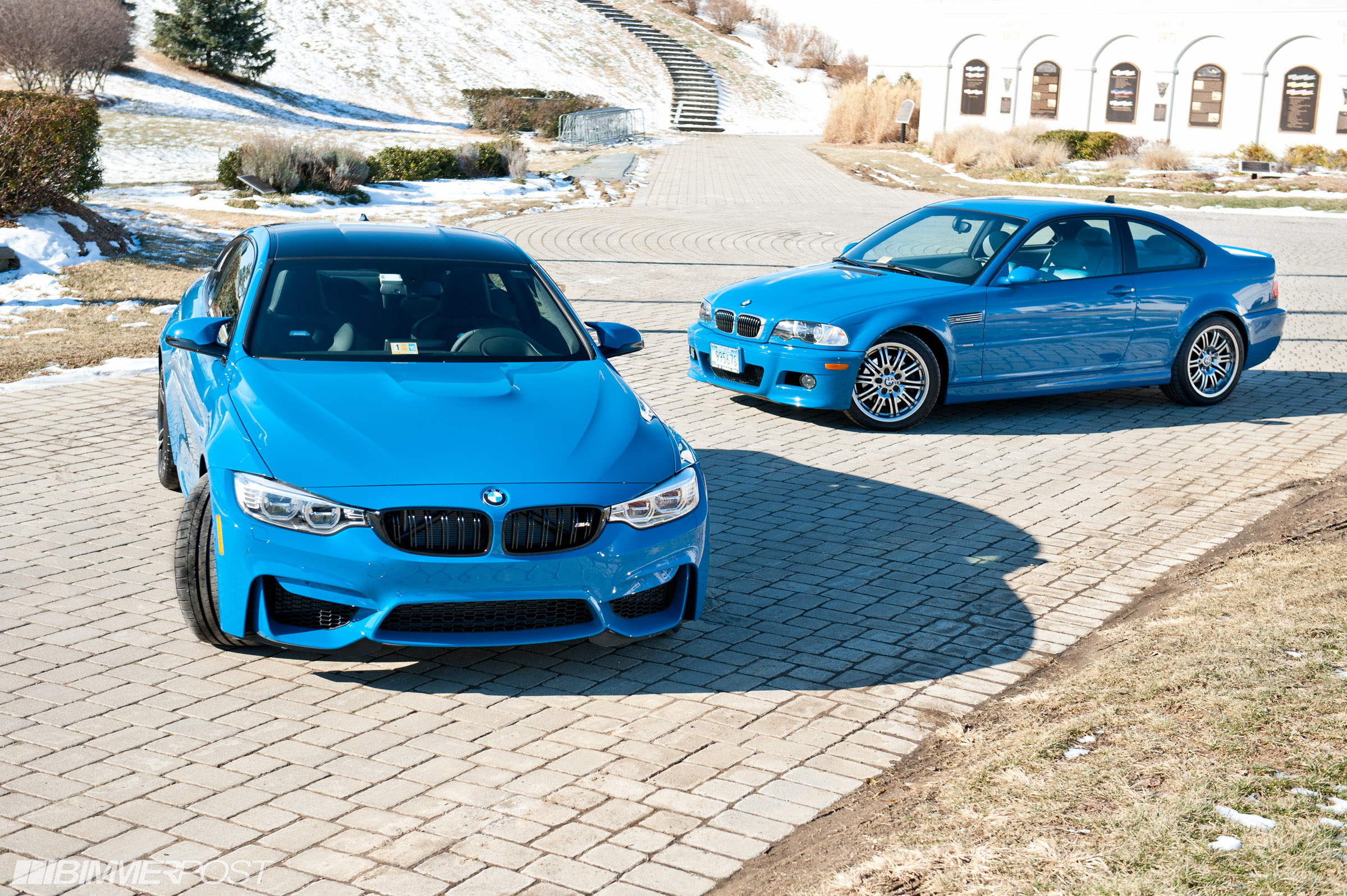 Laguna Seca Blue M4 And E46 M3 Together At Last