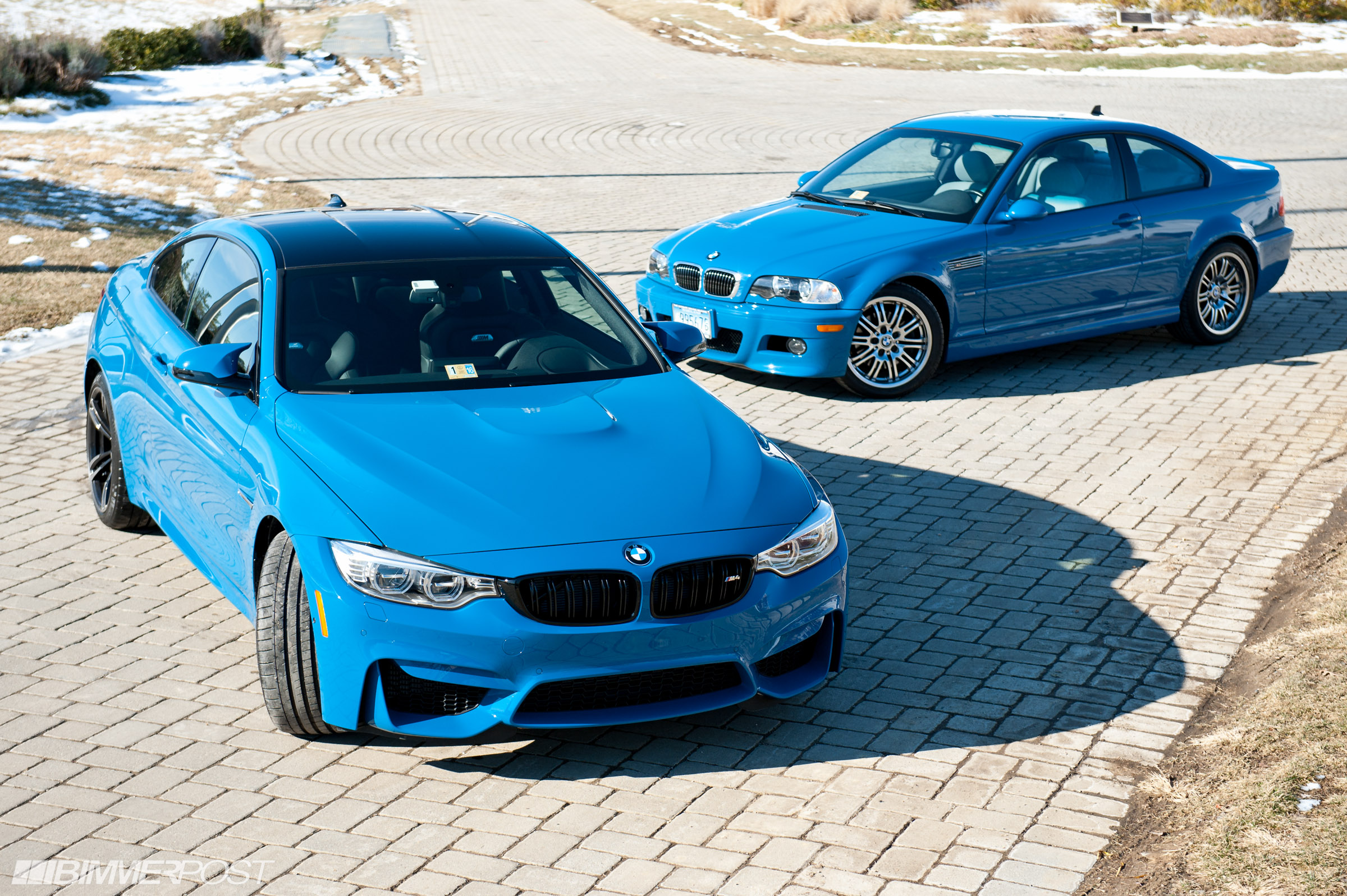 Laguna Seca M3 >> Laguna Seca Blue M4 And E46 M3 Together At Last