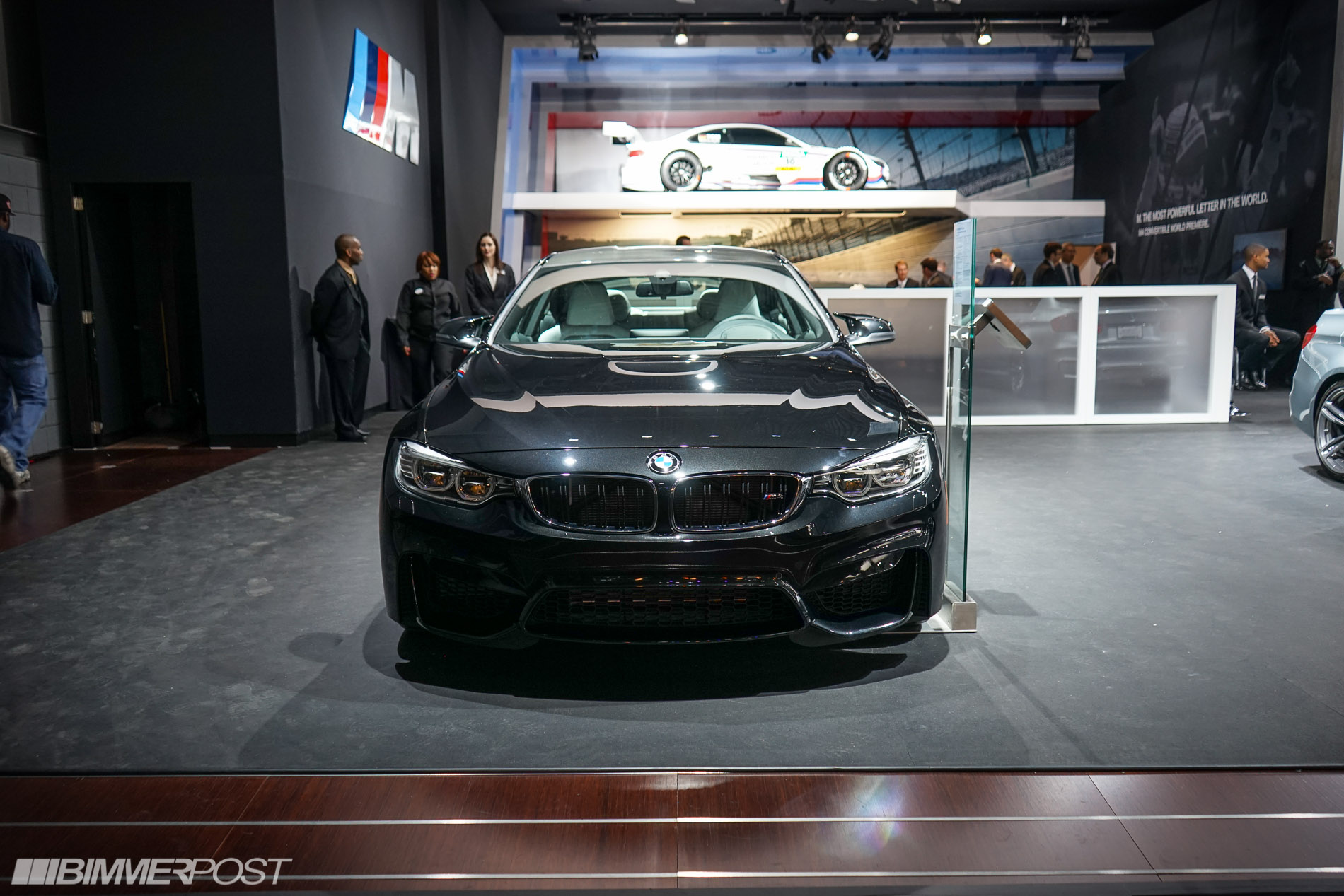 Blacked Out BMW M4 W   Blacked Out Bmw M4