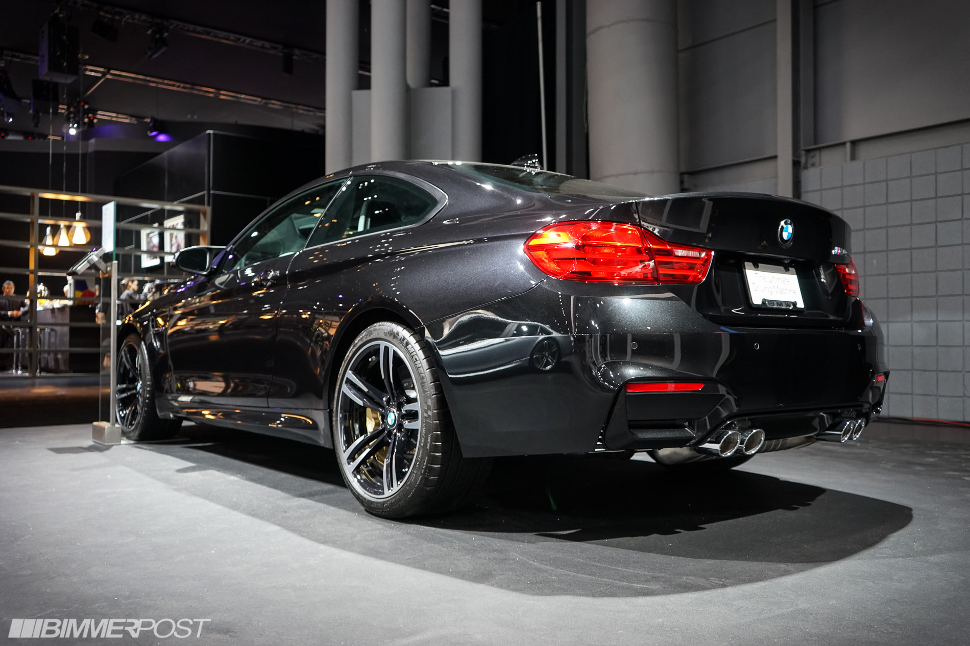2014 nyias bmw m4 f82 in black sapphire metallic. Black Bedroom Furniture Sets. Home Design Ideas