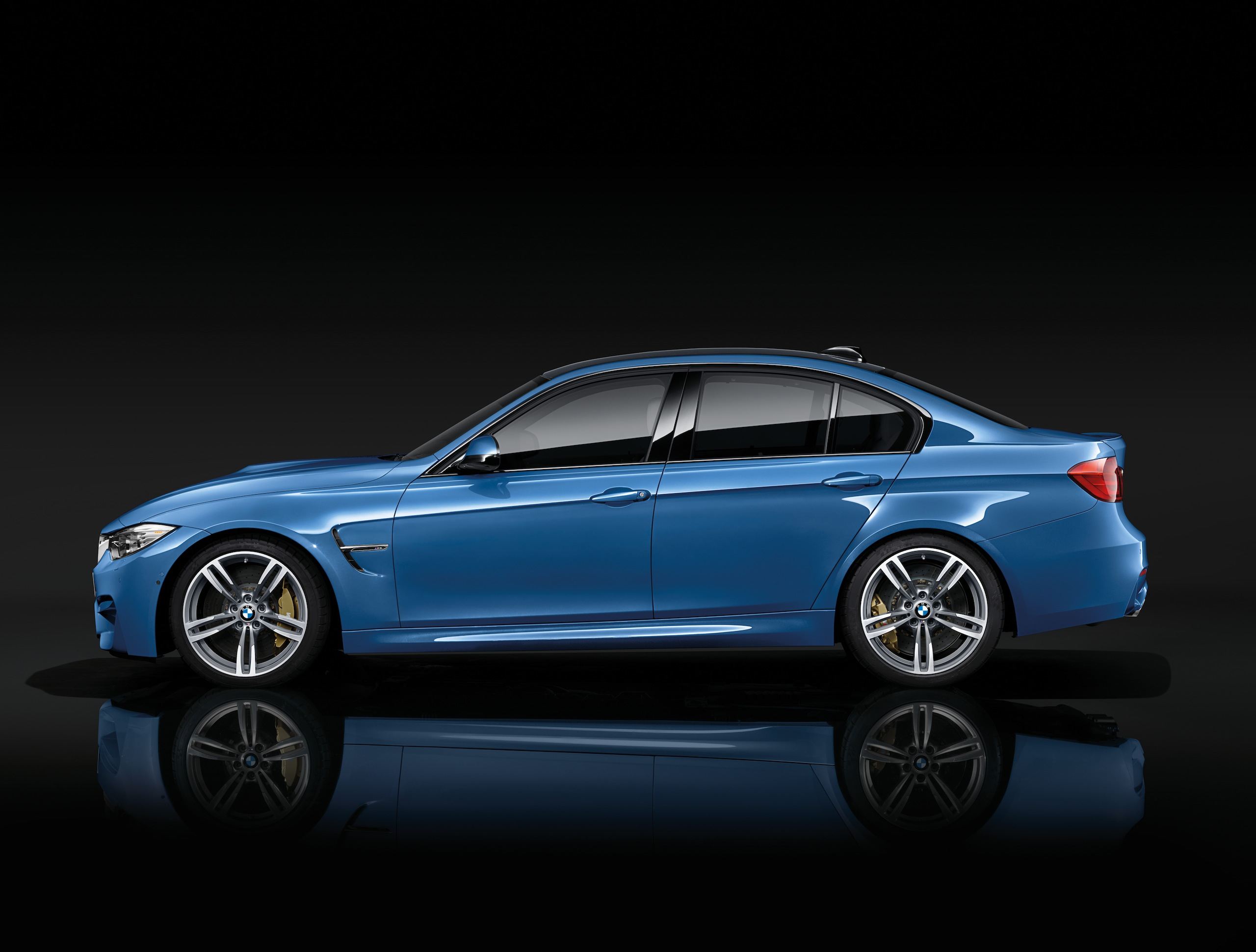 F80 M3 Side Skirts On F30