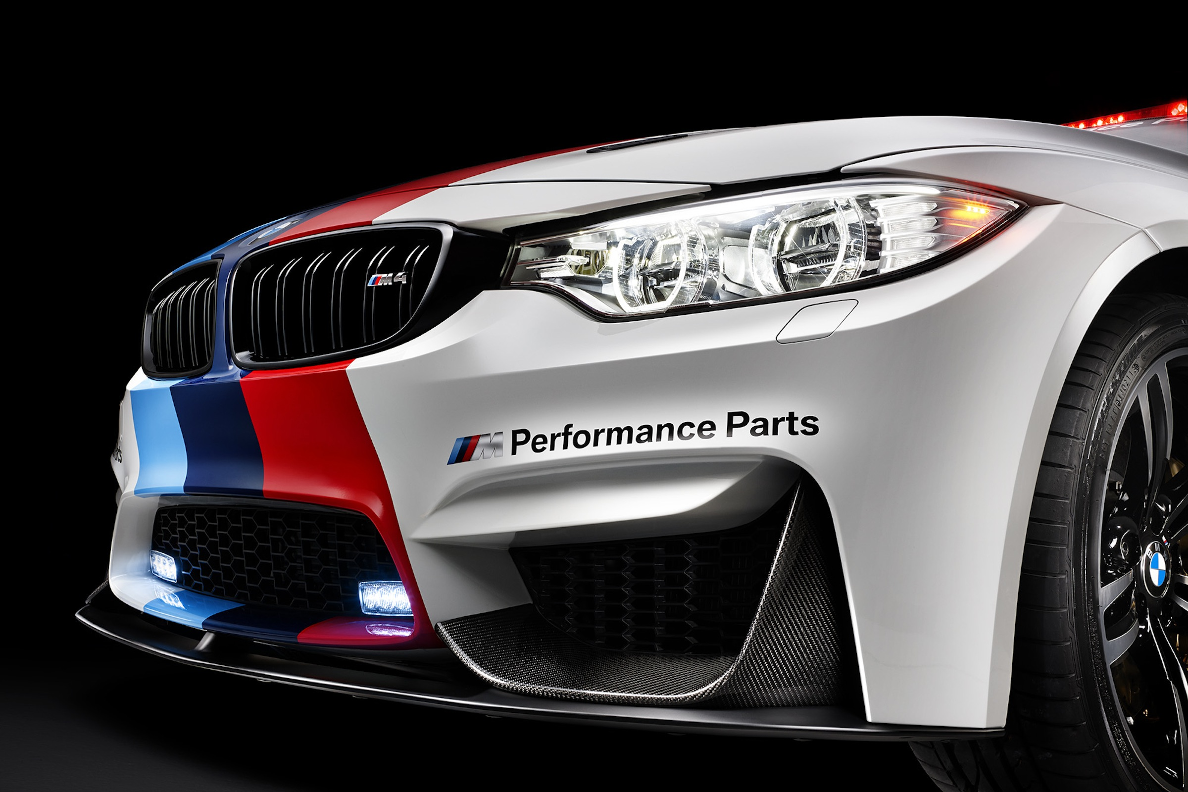 bmw m4 motogp safety car w m performance parts m. Black Bedroom Furniture Sets. Home Design Ideas