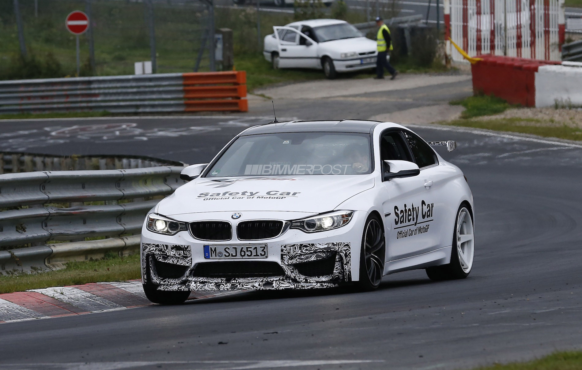 bmw m4 gts prototype spied updated with video. Black Bedroom Furniture Sets. Home Design Ideas