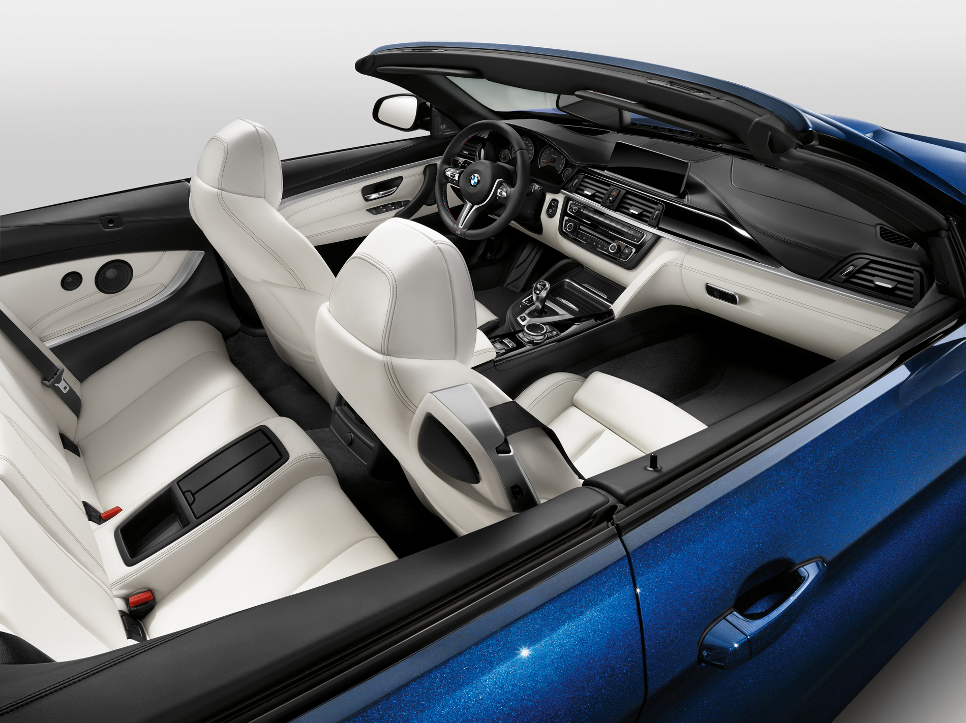 Individual Opal White Leather Interior