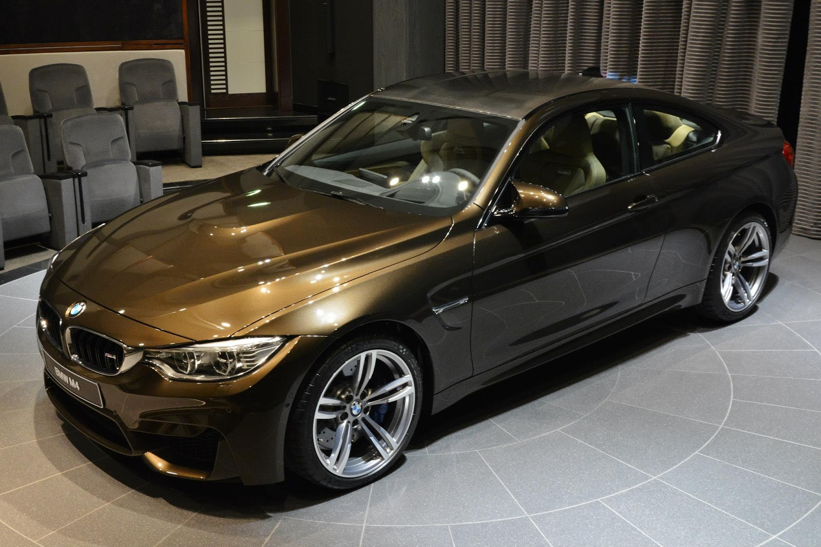 M4 Coupe In Pyrite Brown And Sonoma Beige Individual