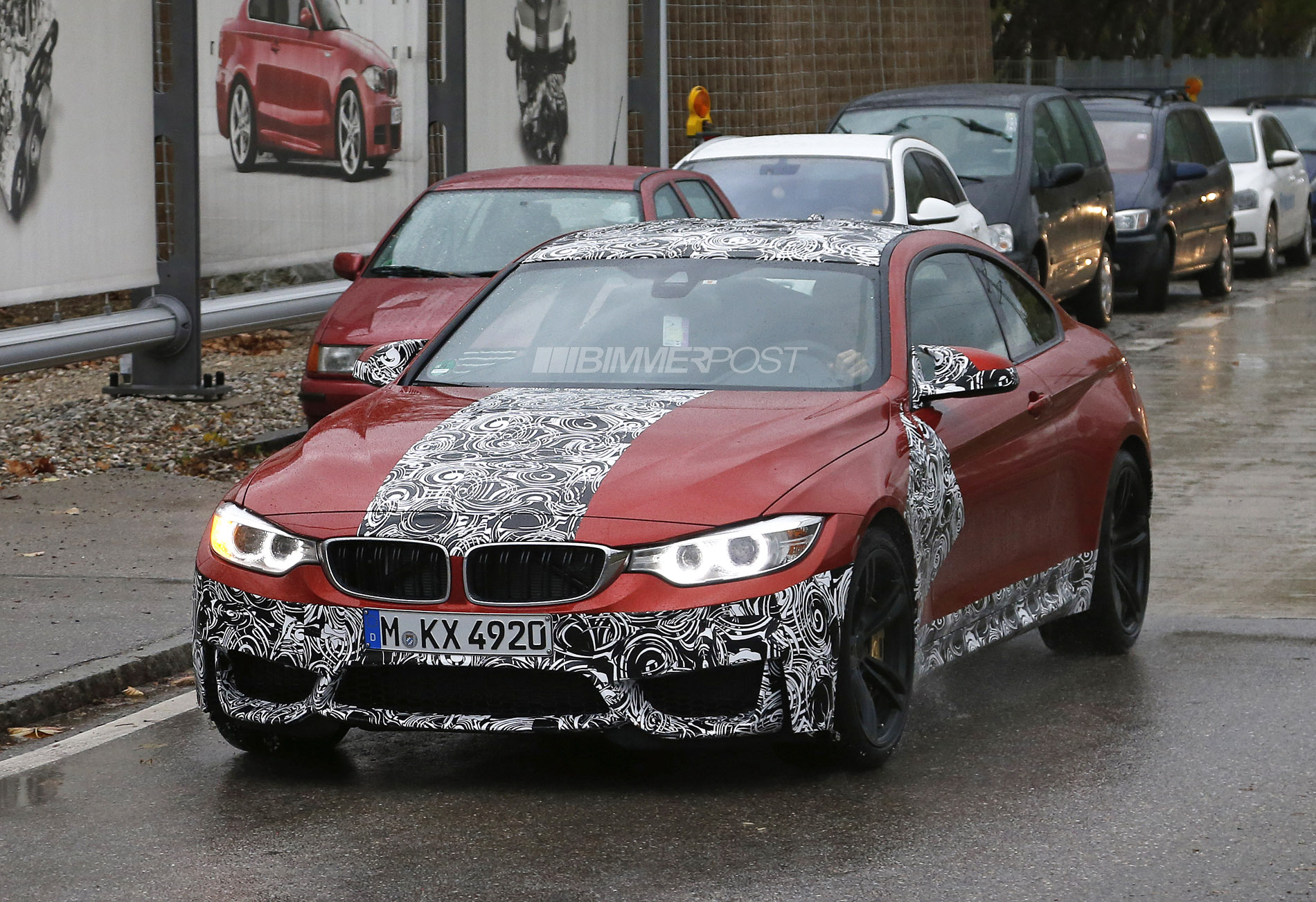 Sakhir Orange M4 Coupe Seen For First Time