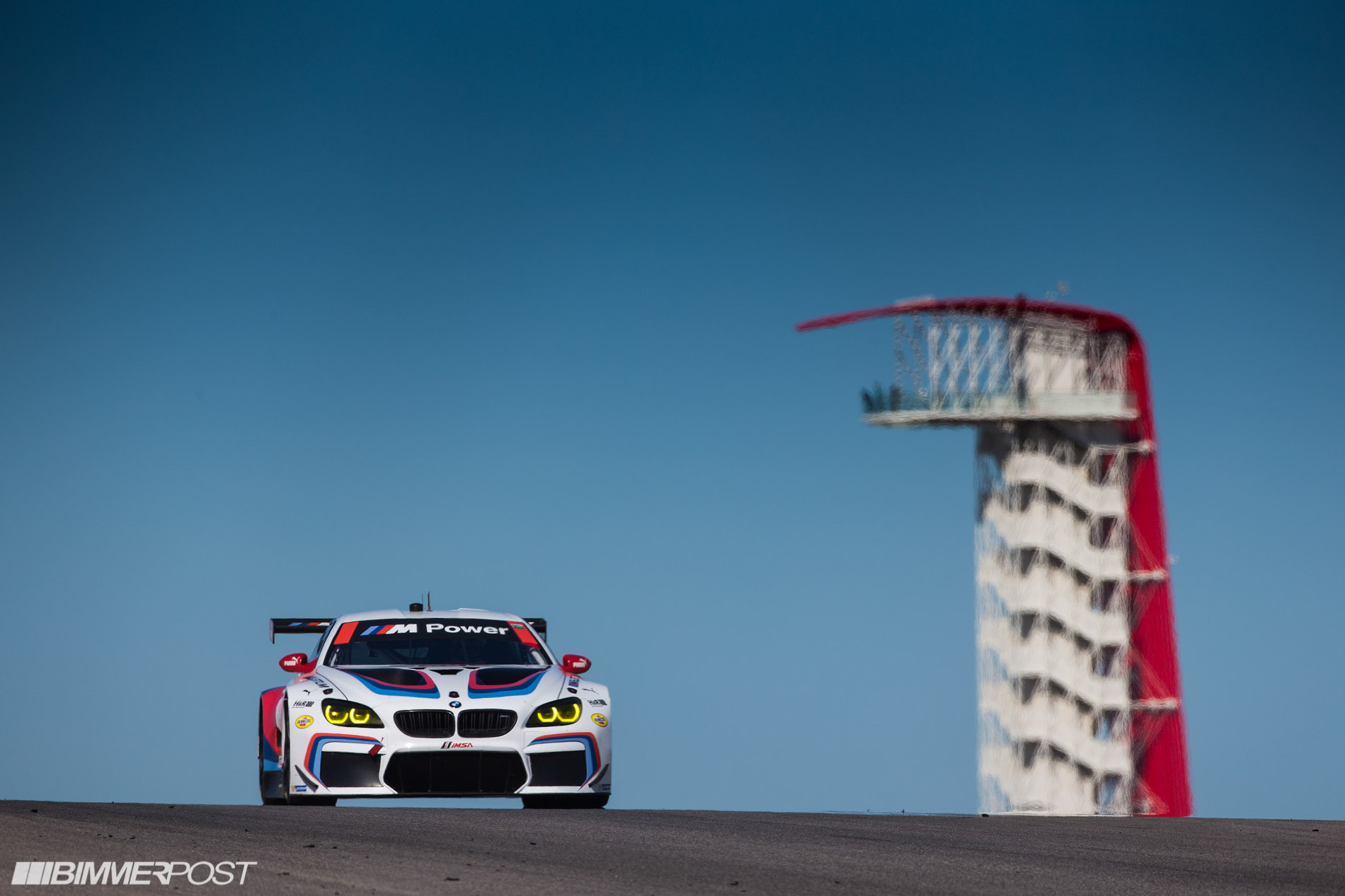 Double M6 Gtlm Podium Finish For Bmw Team Rll At Cota